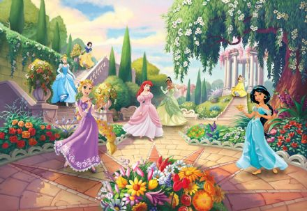 Children's room Photomural Disney Princess Park